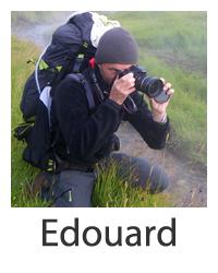 Edouard, passionné d'art et de montagne