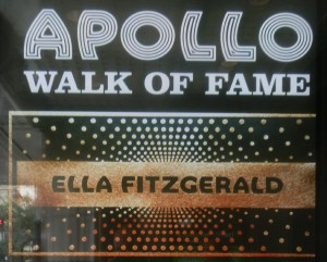 Apollo Theatre, Ella Fitzgerald, Harlem, New-York