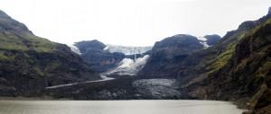 Glacier Morsarjokull à Skaftafell, Islande
