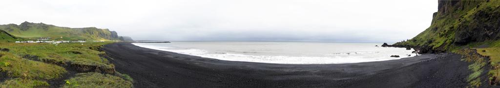 Plage de Vík, Islande