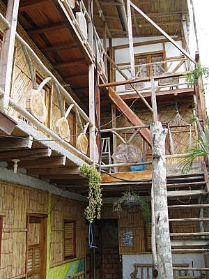 las cabanas, un super lodge a canoa en equateur