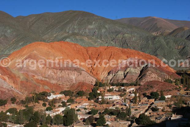 Argentine : Cerro de 7 colores Purmamarca Jujuy - Trace Ta Route