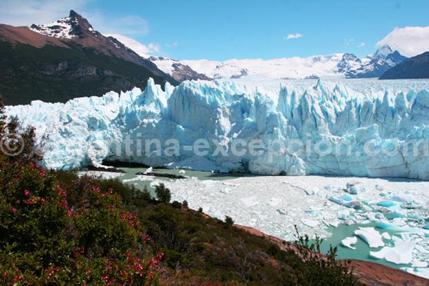 Argentine : glacier Perito Moreno - Trace Ta Route