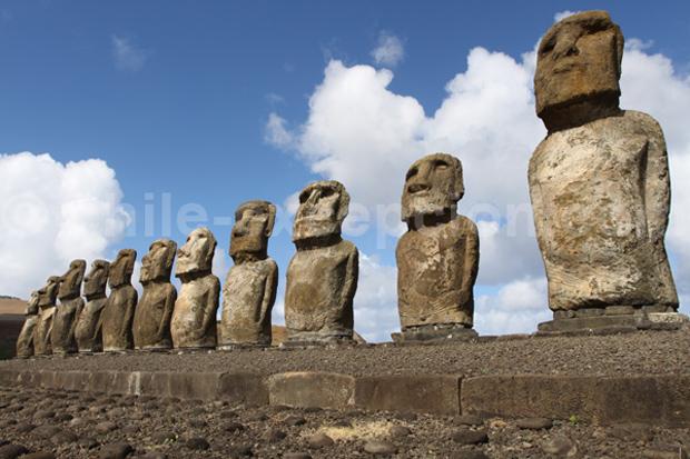 Moaïs de l'île de pâques, Chili - Blog Voyage Trace Ta Route