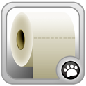 logo application mobile le rouleau de papier toilette
