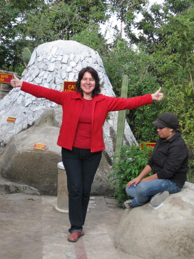 Jeu de l'attraction magnétique terrestre au Musée Intiñan, Equateur - Trace Ta Route - Blog voyage