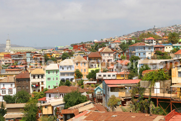 Valparaiso et ses maisons colorées, Chili - Blog Voyage Trace Ta Route