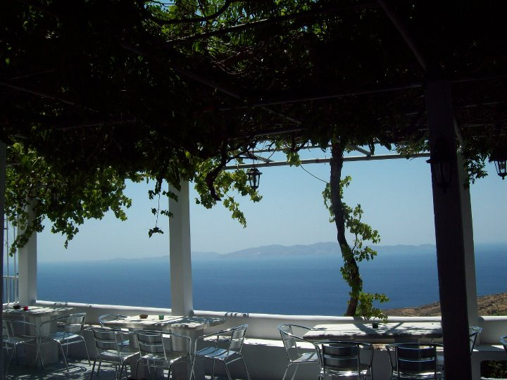 Taverne de Kardiani - Tinos, Cyclades, Grèce