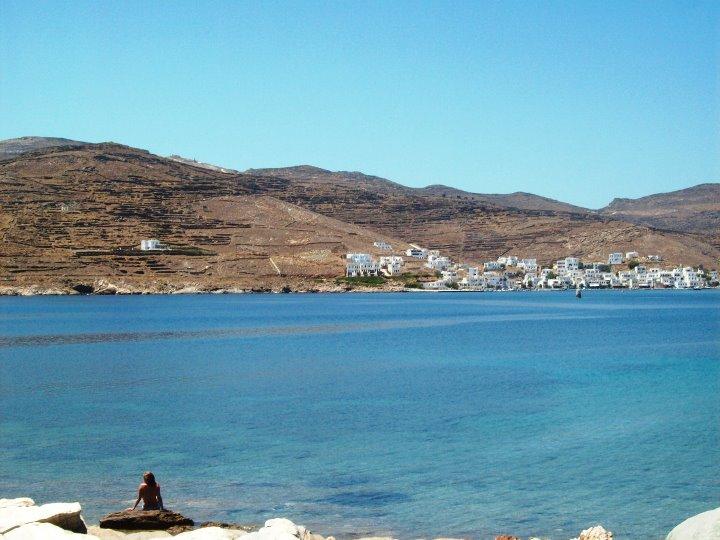 TInos dans les Cyclades - île grecque