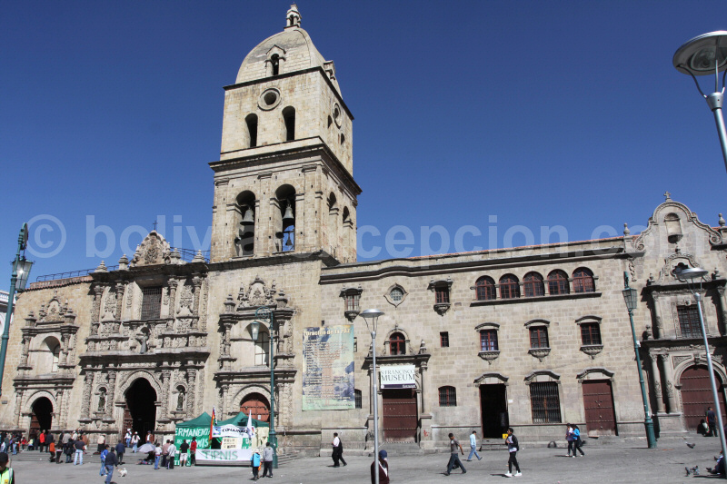 Monument de La Paz en Bolivie - blog voyage trace ta route