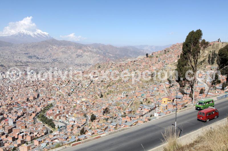 Paysage de la cordillère royale à La Paz, Bolivie - blog voyage trace ta route