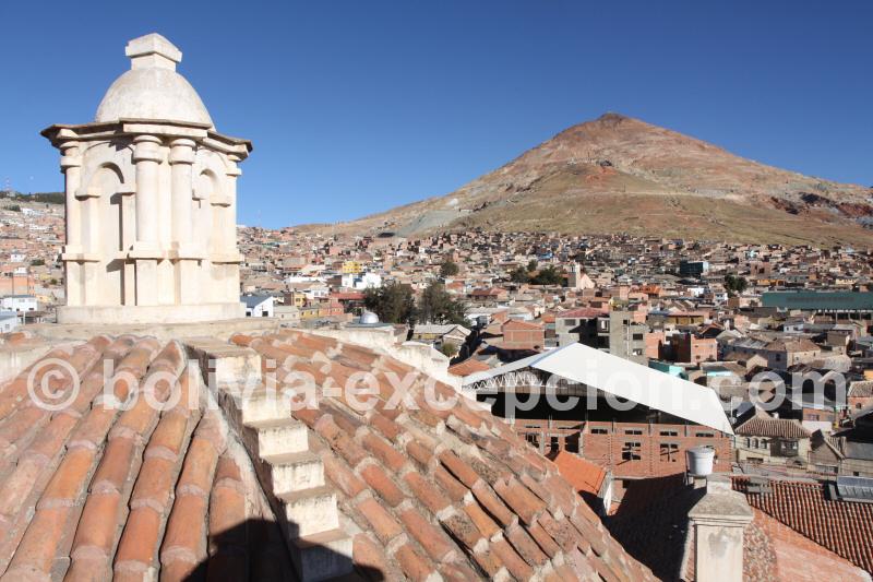 Vue sur la ville de Potosi et ses montagnes, Bolivie - blog voyage trace ta route