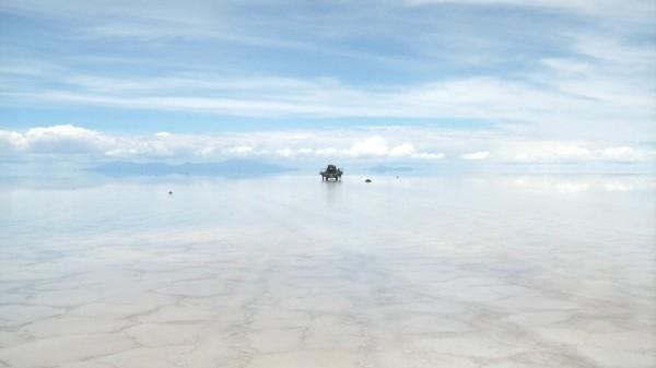 Paysage Salar d'Uyuni, Bolivie - blog voyage trace ta route