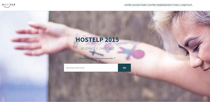 se loger chez l'habitant gratuitement - HostHelp - blog voyage trace ta route