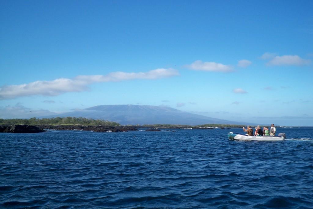 voyage îles galápagos paysage volcan océan equateur - blog voyage Trace Ta Route