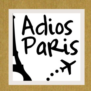 blogs voyage : adios paris