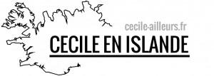 blogs voyage : Cécile en islande