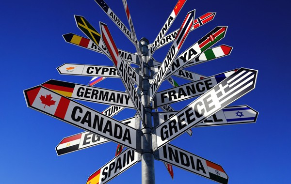 meilleurs blogs voyage panneaux signalisation pays drapeau