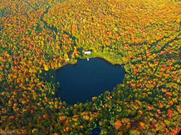 lac été indien québec canada forêt automne - blog voyage Trace Ta Route