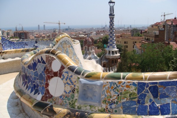 Barcelone Parc Guell Gaudi