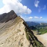 Le Col du Rasoir vers le Pic de Jallouvre