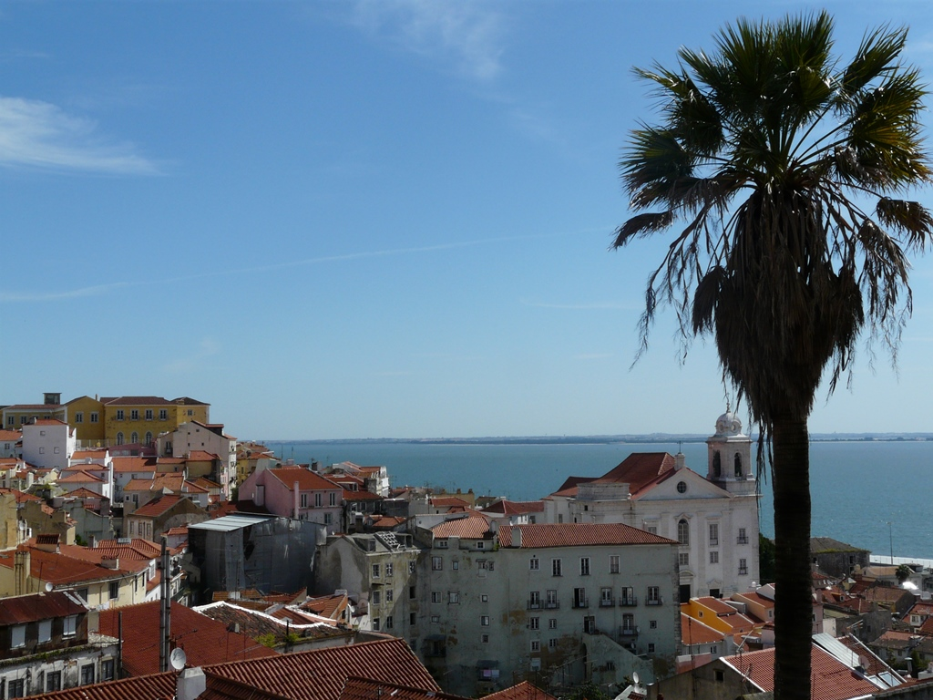 l'Alfama à Lisbonne
