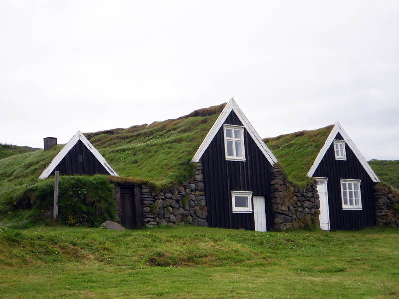 Skaftafell - Sel, Islande