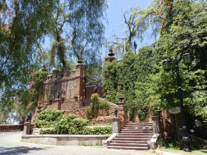 cerro santa lucia santiago blog voyage trace ta route