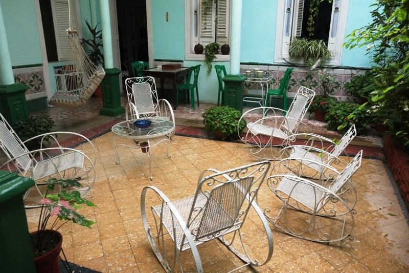 Cuba pratique : casa particular Cienfuegos blog voyage trace ta route