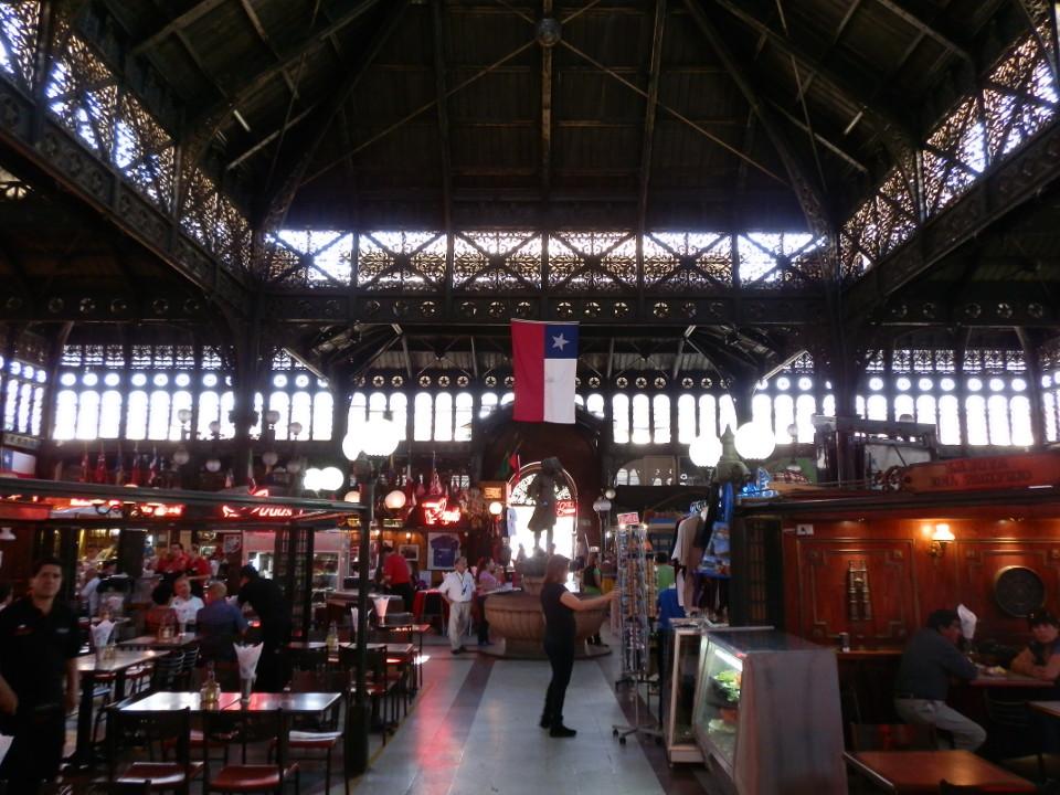 mercado central santiago - blog voyage trace ta route