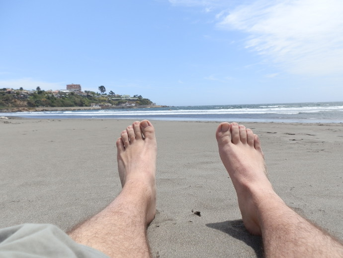 plage concon valparaiso blog voyage trace ta route
