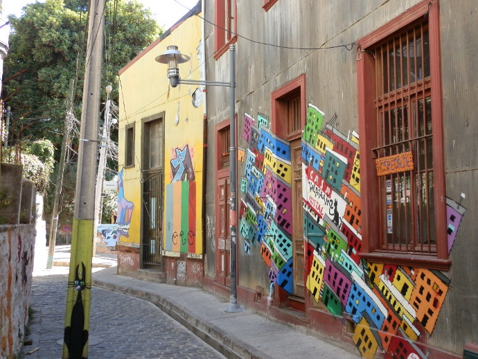 street art valparaiso chili blog voyage trace ta route