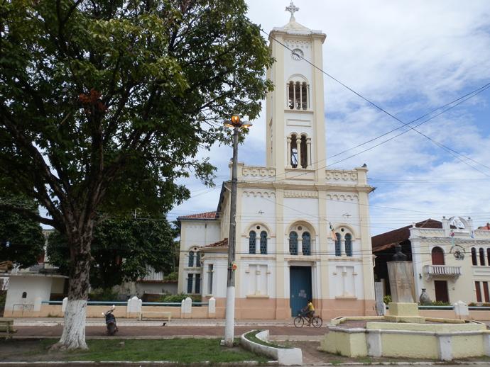 église soure île marajo au brésil - blog voyage trace ta route