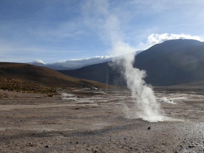 fumerolle geysers el tatio san pedro de atacama blog voyage trace ta route
