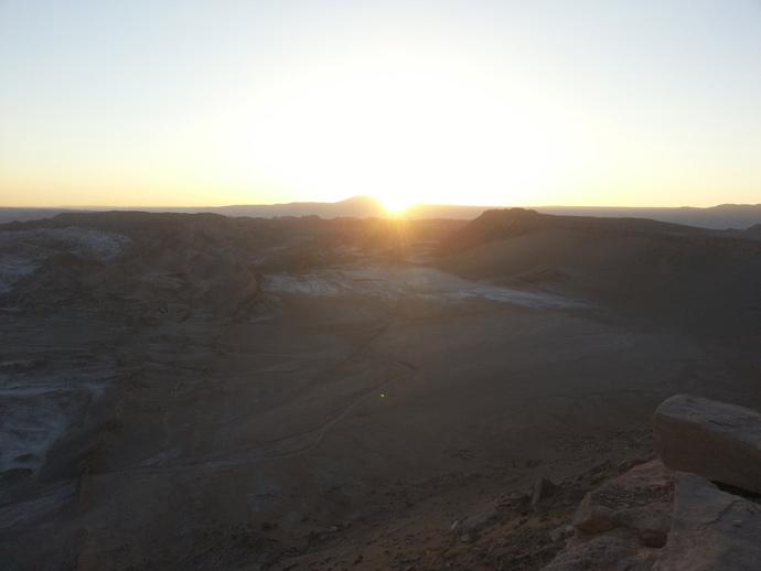 coucher de soleil vallée de la mort san pedro de atacama blog voyage trace ta route