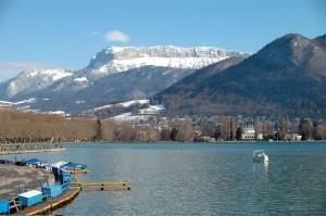 Le Lac d'Annecy et le Parmelan