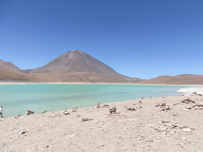 laguna verde sud lipez uyuni bolivie - blog voyage trace ta route