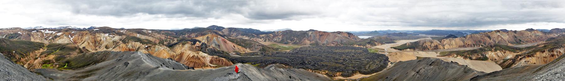 Blahnukur (Landmannalaugar - Islande)