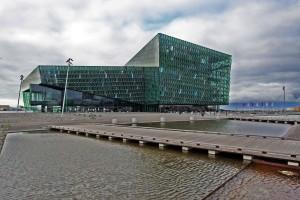 Harpa, salle de concert de Reykjavik, Islande