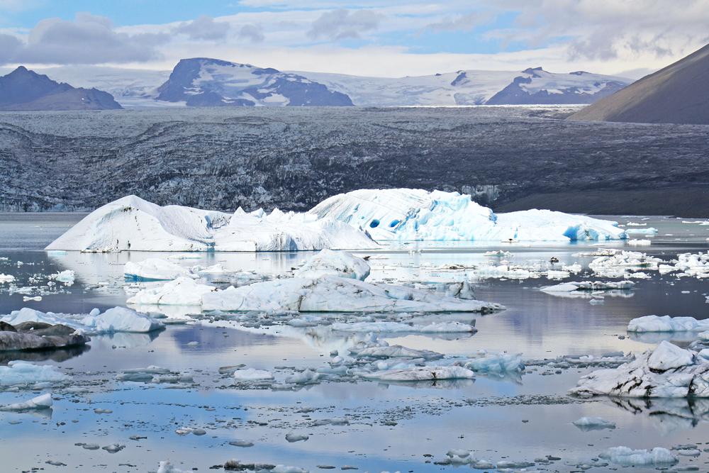Iceberg sur le lac de Jokulsarlon, Islande