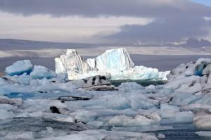 Iceberg à Jökulsárlón, Islande