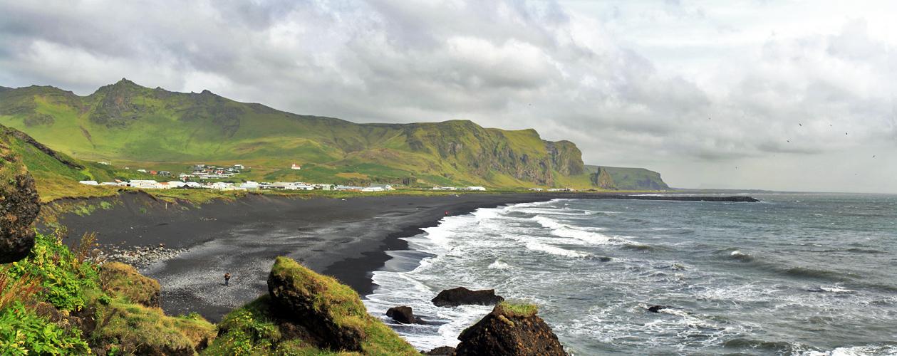 Plage de Vik i Myrdal, Islande