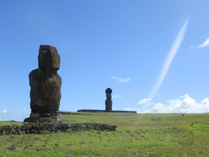 moaï tahai île de pâques blog voyage