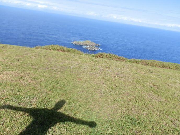 homme oiseau make make île de pâques blog voyage trace ta route