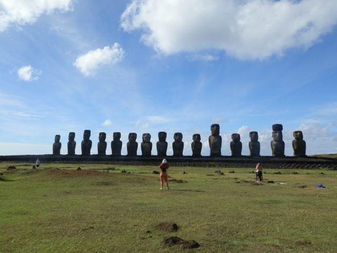 Moaï Île de pâques tongariki rapa nui blog voyage