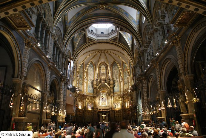 abbaye de montserrat, alentours de Barcelone - blog voyage trace ta route