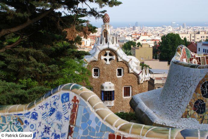 park guell de barcelone - blog voyage trace ta route