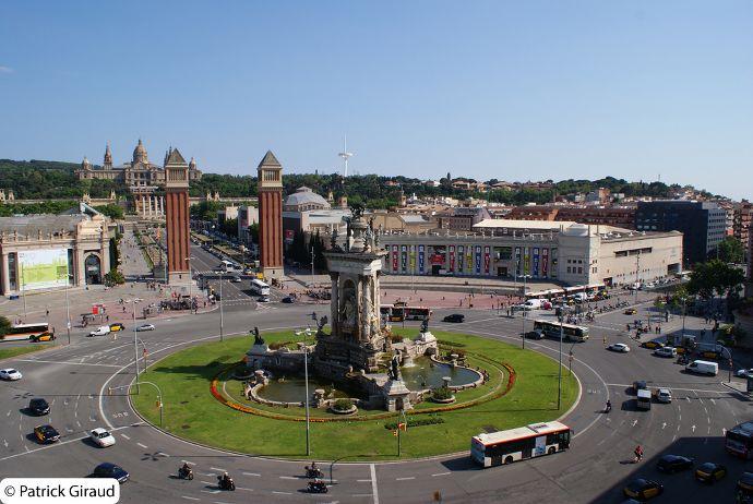 plaza españa, une semaine à barcelone - blog voyage trace ta route