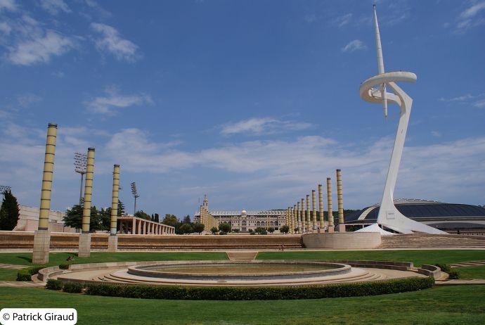 site olympique de montjuic, séjour d'une semaine à barcelone - blog voyage trace ta route