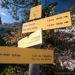 Les différents sentiers du Mont Granier (Chartreuse)